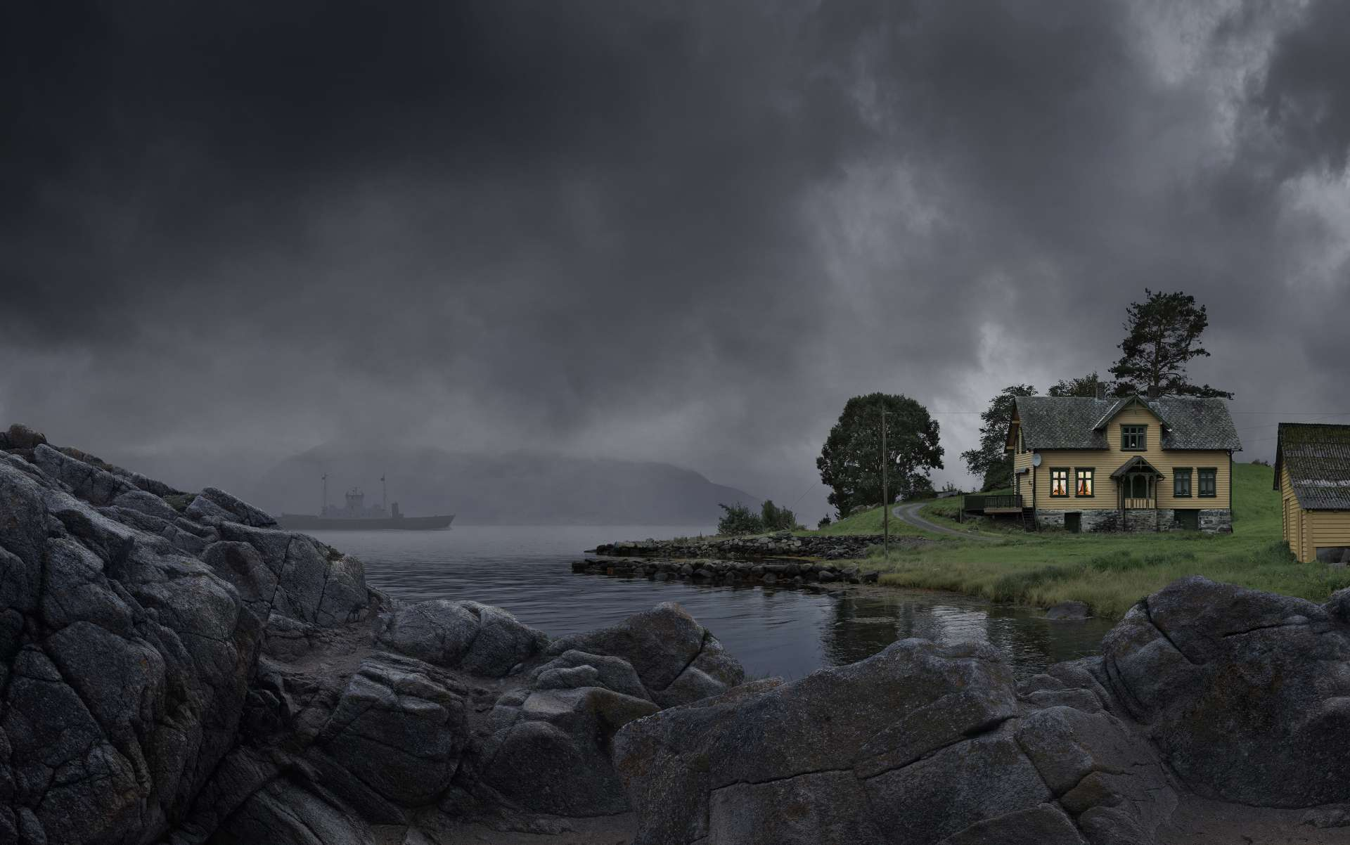A dark day in Norway | Landscape | Koen De Muynck