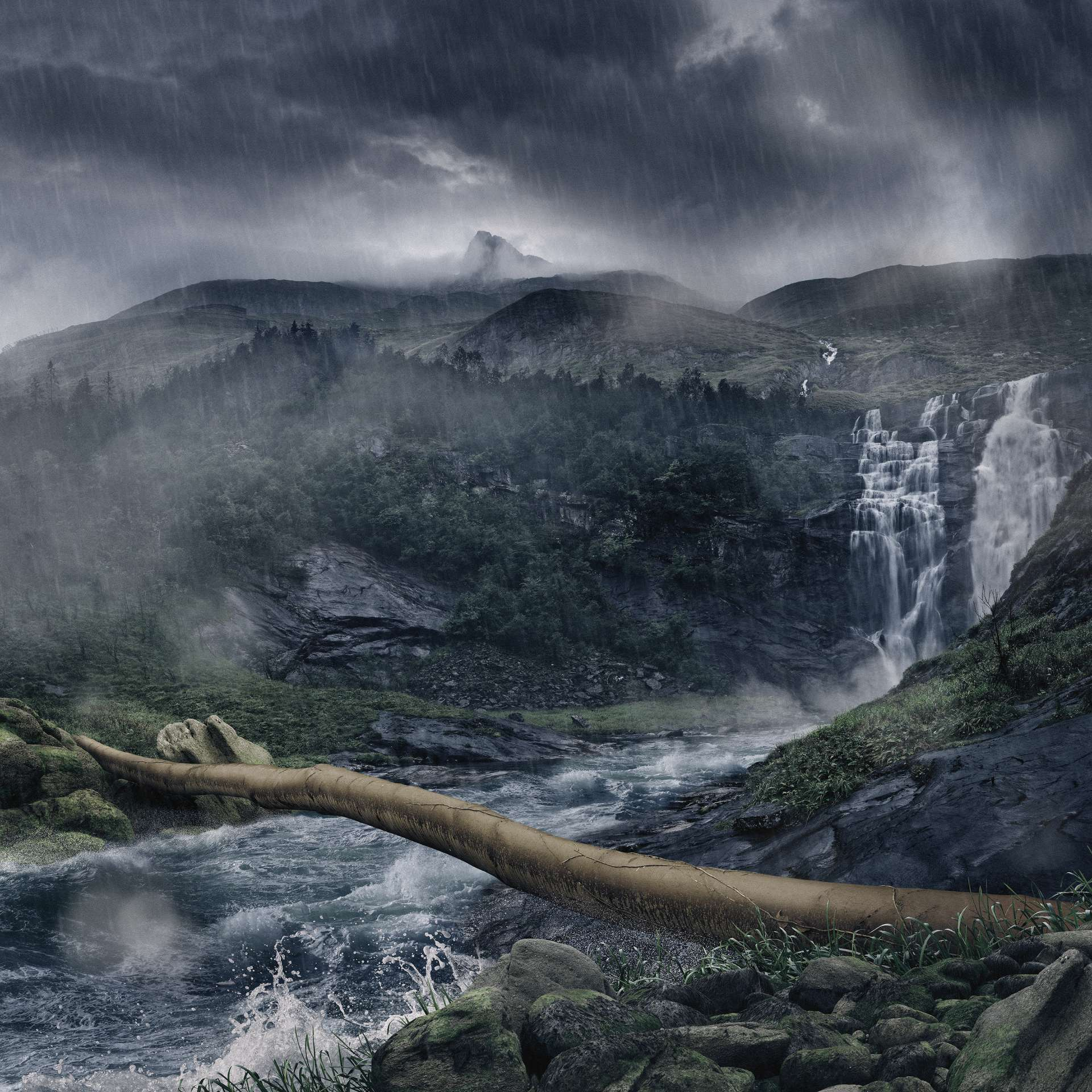 Waterfall in Norway | Landscape | Koen De Muynck